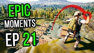 PUBG: Epic & Lucky Moments Ep. 21