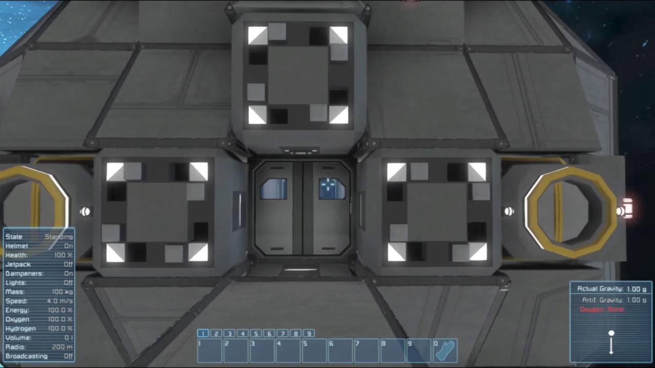 Space engineers automated airlock door blueprint youtube space engineers automated airlock door blueprint malvernweather Image collections