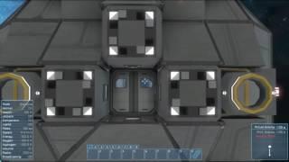 Space Engineers - automated airlock door (blueprint)
