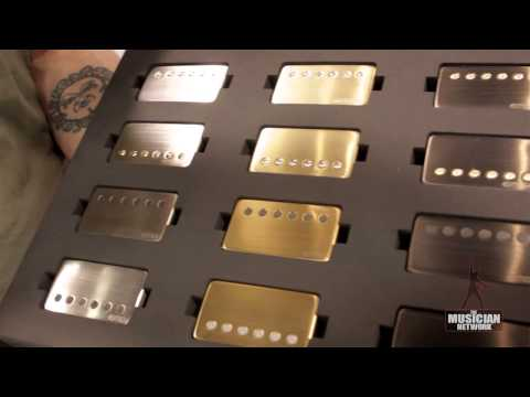 EMG Pickups- NAMM 2013: Product Showcase