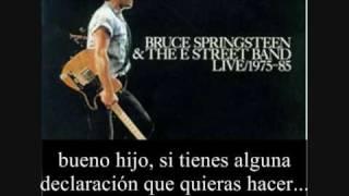 Johnny 99. Bruce Springsteen subtitulada español