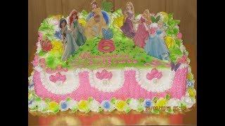 Торт для Принцессы.Торт на День Рождения Девочке.