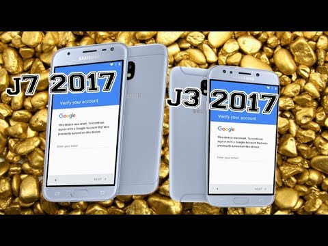 Samsung Galaxy J3/J7 2017 Remove And Skip Google Account Latest