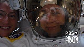 WATCH LIVE: NASA conducts 1st all-female spacewalk