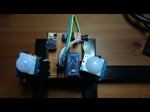 IoT movement detector with PIR sensors