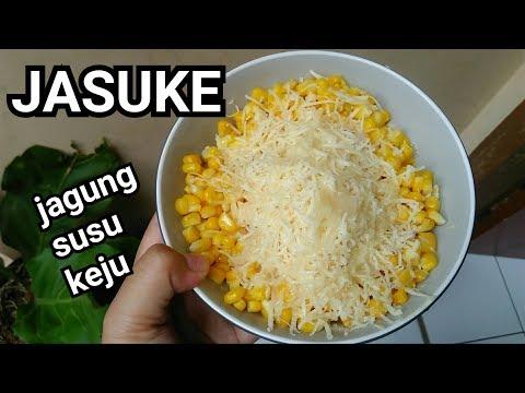 CARA MEMBUAT JASUKE jagung susu keju