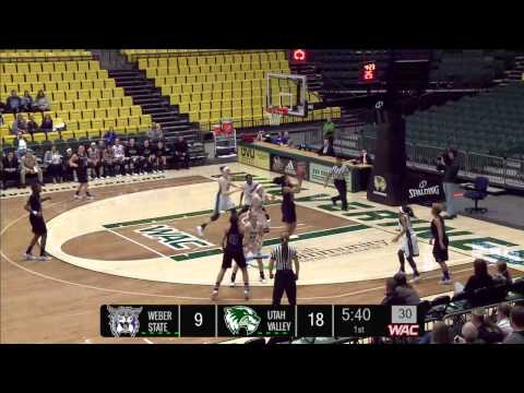 NCAA Basketball: Weber State University at Utah Valley Unive