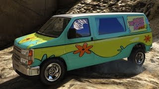 GTA V Scooby Doo Mystery Machine