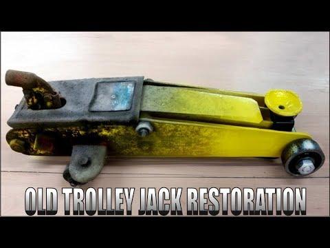 Old Trolley Jack Restoration