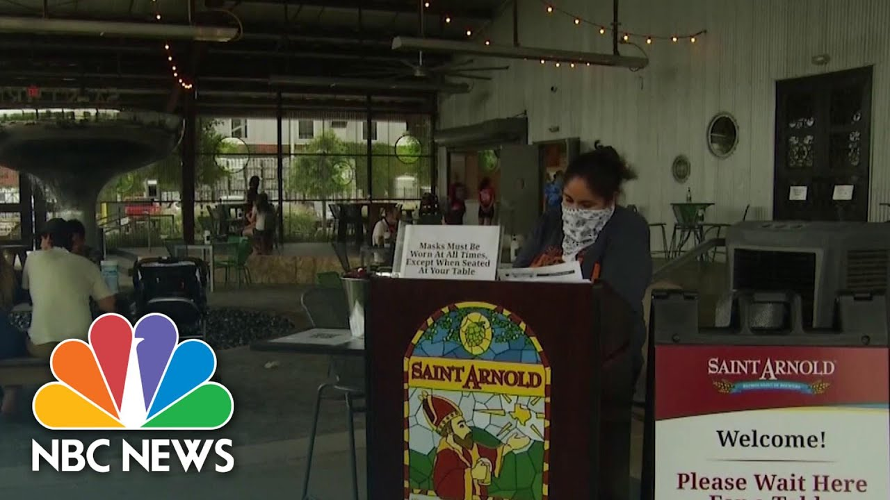 Houston Businesses Struggling As Texas Reports Increase In COVID-19 Cases | NBC News NOW