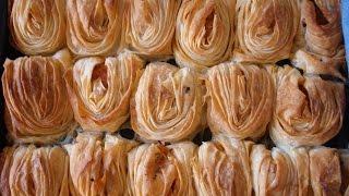 Турецкий берек с картошкой. Видео рецепт Пирожки Мидии. Midye börek nasıl yapılır