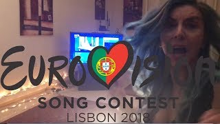 Reacting LIVE to First Semi Final Qualifiers | Eurovision 2018