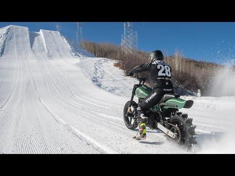 360 Video - #HDSnowHillClimb Course Preview   Harley-Davidson