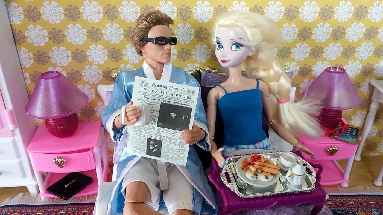 Frozen Elsa Barbie Bed & Bedroom My Fancy Life Bedroom