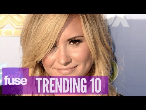 "Demi Lovato Gives Back at ""We Day"" Event in Toronto - Trending 10 (9/19/13)"