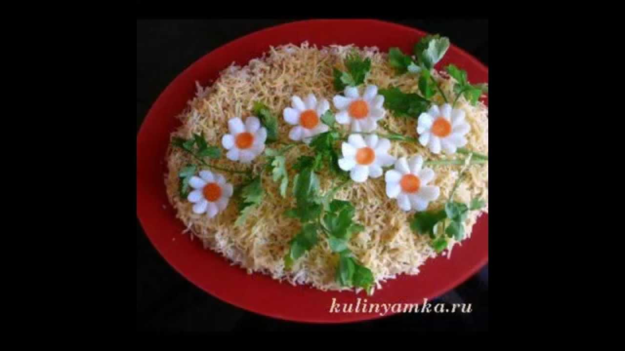 красивый новогодний салат рецепт