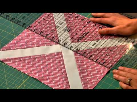 Free quilting lesson: Slashed quilt block from start to finish | Craftsy Block of the Month