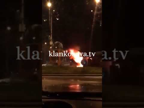 Zjarri përfshinë disa dyqane në Pejë - 14.11.2017 - Klan Kosova