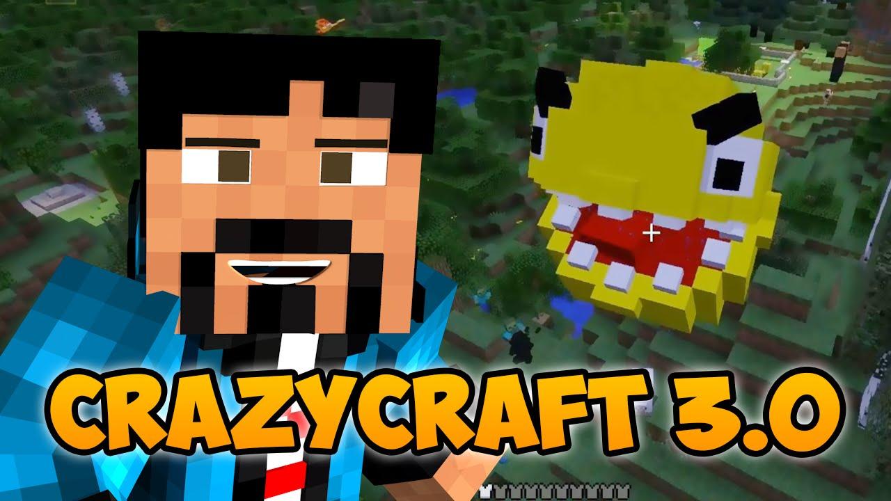 Minecraft crazy craft 3 0 pacman in minecraft wut for Crazy craft 3 0 server