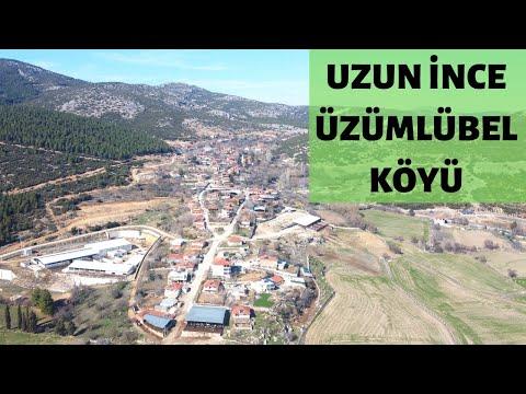 Burdur Bucak Üzümlübel Köyü