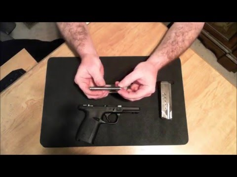 Smith & Wesson SD40VE Breakdown & Reassembly