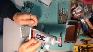 Замена дисплея модуля lcd на Lenovo S850