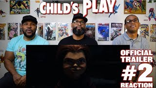 Child's Play Official Trailer 2 Reaction