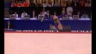 Natasha Kelley 2006 Worlds Floor Event Finals