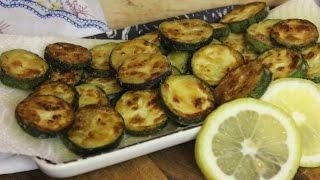 Kolokithakia tiganita (κολοκυθάκια τηγανιτά)| griechisch gebratene Zucchini| Meze/Mezedakia (vegan)