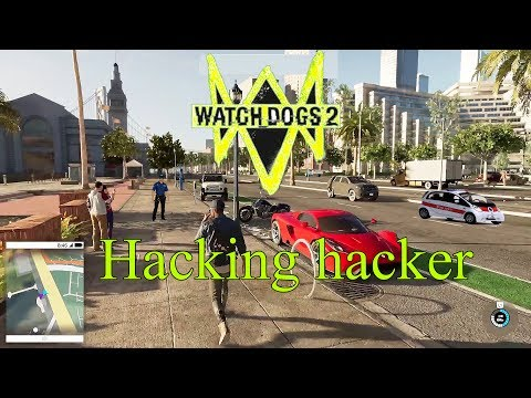 watch dogs hacking the hacker