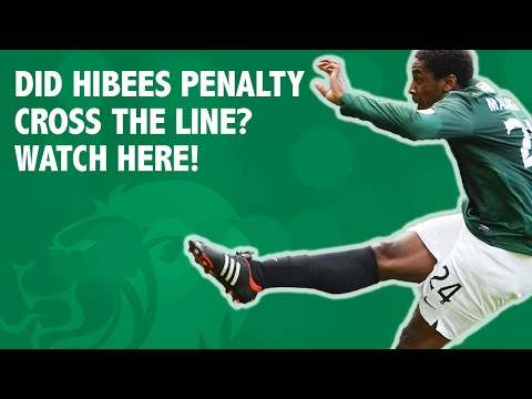 Did Hibees penalty cross the line? Watch here!