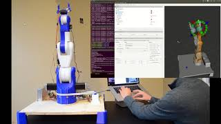 3D Printed Robotic Arm controlled with Arduino \u0026 ROS
