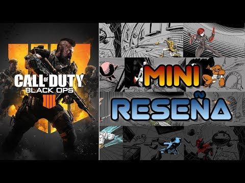 Mini Reseña Call of Duty: Black Ops 4   3GB