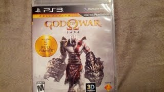 God of War Saga Unboxing (PS3)