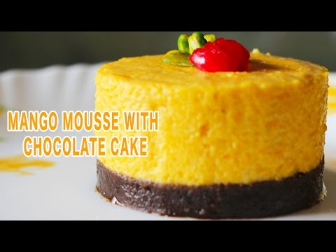 Eggless Mango Mousse - Quick And Easy Homemade Dessert Recipe | Kanak's Kitchen [HD]