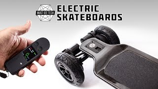 Top 12 NEW Electric Skateboards YOU MUST SEE