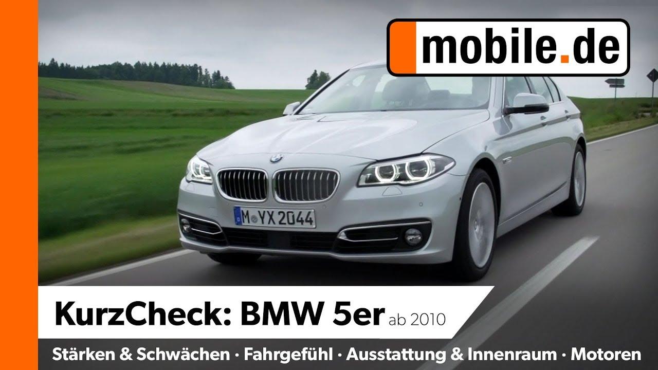 Bmw 5er Ab 2010 Mobilede Kurzcheck Youtube