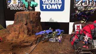タカラトミー「ゾイドワイルド」ジオラマ動画 その1 〜 Takara Tomy ZOIDS 〜