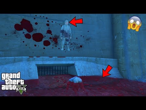 GTA 5 - DON'T go to This SCARY HAUNTED Location at 3AM!