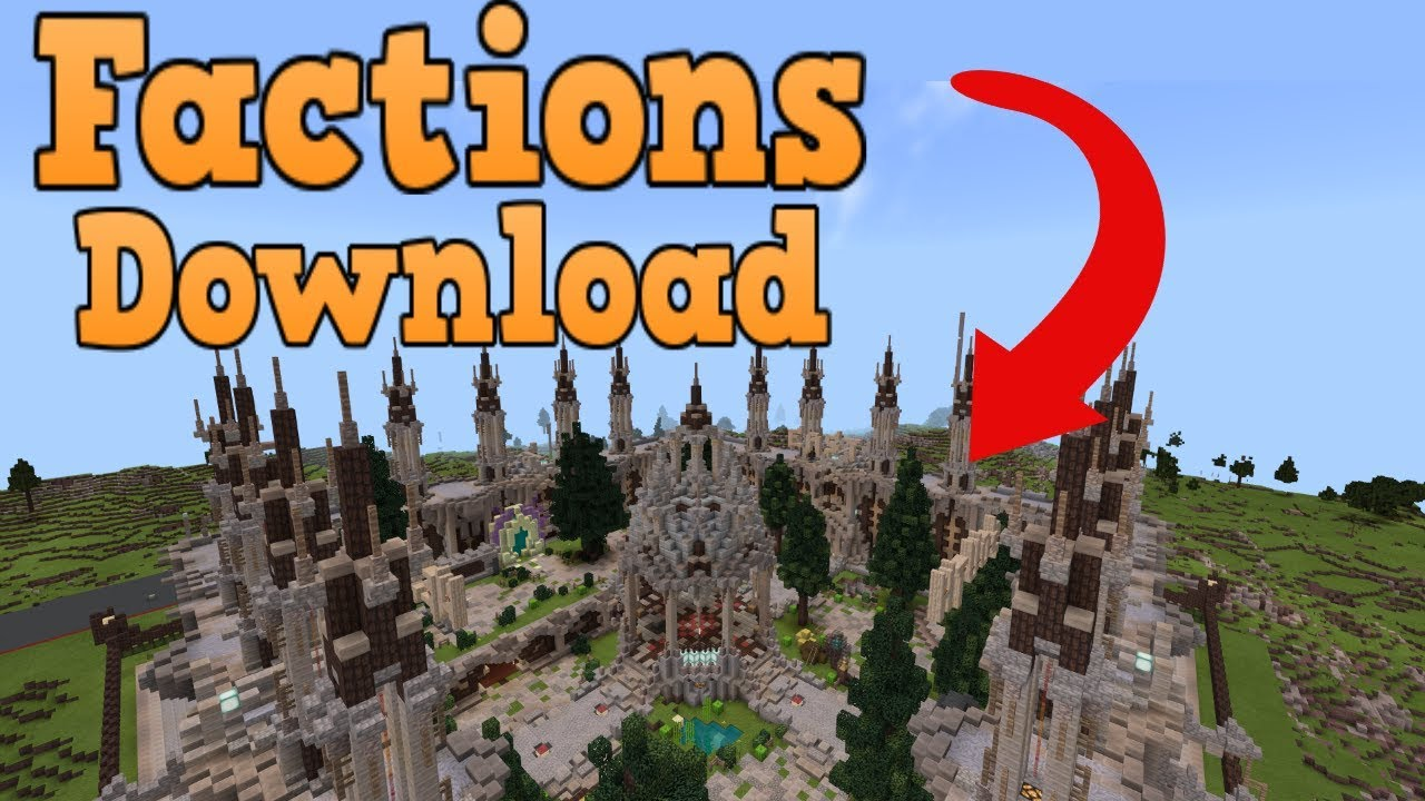 Minecraft Bedrock Edition Factions Map Download