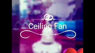 Ceiling Fan Rewinding ( about parts of ceiling) Part-1