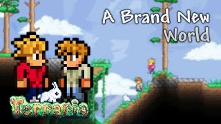 Terraria Let's Play - A Brand New World [1]