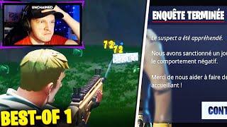 J'ai Réussi à BANNIR un HACKER sur Fortnite ! BEST OF LIVE #1