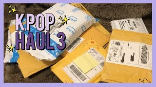 kpop letter unboxing