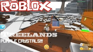 Roblox: Lets Play Treelands EP3: How to get the PURPLE CRYSTAL