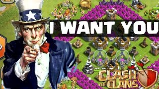 NEUER CLAN - I WANT YOU! || CLASH OF CLANS || Let's Play Clash of Clans [Deutsch/German HD]