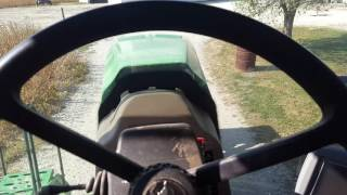 John deere 8230t can tour and start up.