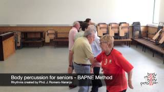 Body percussion for elderly people - BAPNE Method 3