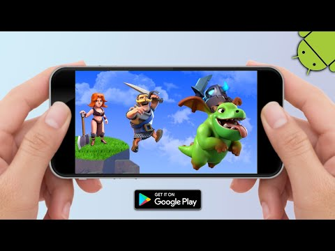 TOP 5 BEST SUPERCELL GAMES ON ANDROID