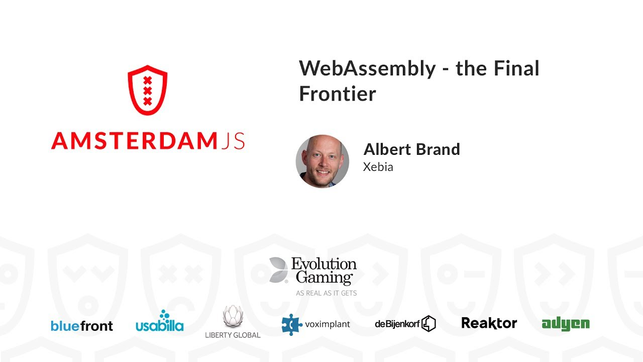 WebAssembly: the Final Frontier – Albert Brand